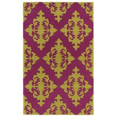 Darby Home Co Slovan Pink Area Rug Rug Size: