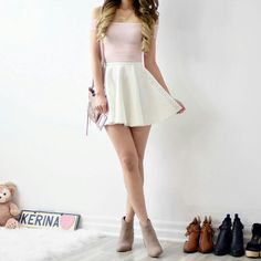 Image shared by martysatta. Find images and videos about fashion, clothes and mangorabbit on We Heart It - the app to get lost in what you love. Teen Girl Outfits, Teen Fashion Outfits, Outfits For Teens, Girl Fashion, Womens Fashion, Cute Casual Outfits, Pretty Outfits, Fashion Corner, Chiffon Skirt