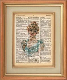 Dorothy  Art Print on Vintage Bible Page  8 1/4 x by PagesOfAges, $7.00