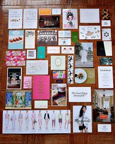 York Avenue: Inspiration (Floor) Board