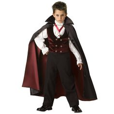 """Dracula costume is one of my all time favorites. I remember a movie where an important clue was """"Dracula"""" spelled backward is """"Alucard""""...it made me notice that my name spelled backward is """"Renecarts"""" :)"""