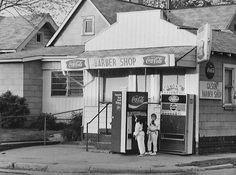 Gilson's barber shop. So many memories....