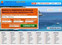 www.menorcaxpress.com Central de Reserva de Alojamientos en Menorca: villas, apartamentos y hoteles