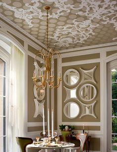 Find This Pin And More On Home Deco   Coffered Ceilings By Helenegrondines.