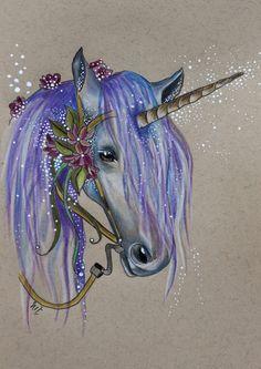 Winter Unicorn....beautiful!!!!