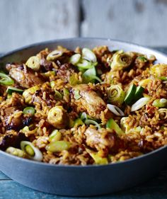 It's a labour of love this Nasi Goreng recipe, but all the flavours of Indonesia are yours for the eating - hot, sweet, salty and fresh. Bbc Good Food Recipes, Indian Food Recipes, Asian Recipes, Dinner Recipes, Cooking Recipes, Healthy Recipes, Curry Recipes, Thai Recipes, Bo Bun
