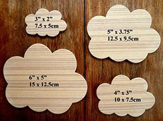 A Wonderful Set Of 4 Different Sized MDF 'Cloud' Drawing Templates (Set 1) by Greg Ledder http://www.amazon.co.uk/dp/B011L0WGZ4/ref=cm_sw_r_pi_dp_MQrPvb1SKV1ZG
