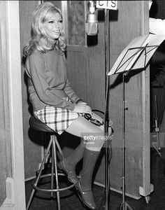 #Sixties | Nancy Sinatra recording, You Only Live Twice, for the James Bond film of the same name