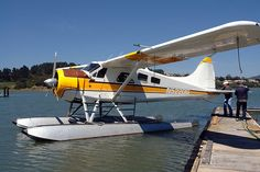 getting ready for seaplane flight photo by Miklos Kiss #perfectweekendmillvalley http://www.seaplane.com/