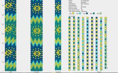 12 beads bead crochet necklace pattern bead rope pattern green turquoise