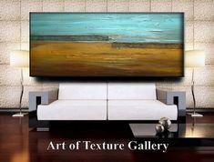 Abstract Original Painting Huge 72 x 30 Impasto by artoftexture