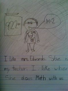 She teaches alongside Walter White. | 18 Children's Notes Made Hilariously Inappropriate By Spelling Errors