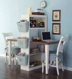 Home Office Ideen - Ein Heimbüro bei wenig Platz gestalten