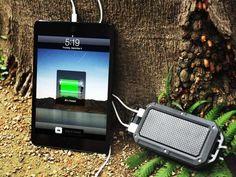 Waterproof, shock proof portable power station #gadget