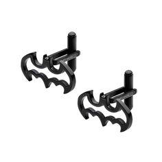 IP Black Cutout Batman Cuff Links #inoxjewelry #cufflink #batman