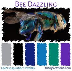 ❤ =^..^= ❤    Bee Dazzling Color Palette
