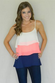 Summer Breeze Tank | Girly Girl Boutique