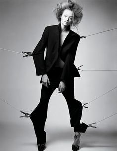 Gemma Ward by Craig McDean for Vogue Italia, February 2005