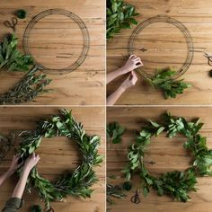 It seems like the seasons are passing so quickly! Spring is already officially here and summer is right around the corner. To celebrate the season, we decided to put a fresh greenery wreath together f
