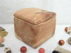 Aromatic Cedar Wood Box blessing box keepsakes by earnestefforts, $27.00