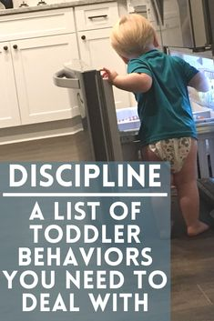 A list of Toddler Behaviors that need your attention. Don't ignore behaviors and instead start correcting them with discipline that fits your parenting style! How to make a plan that works for your family! #toddler #toddlerdiscipline #discipline #baby #tantrums #terribletwos #momlife #mom #momhacks Toddler Behavior, Toddler Age, Baby Tantrums, Baby Discipline, Terrible Twos, Parenting Styles, New Mums, Two Year Olds, Behavior Management