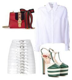 Rock the street by cristinnai on Polyvore featuring polyvore, fashion, style, Kenzo, Manokhi, Gucci and clothing