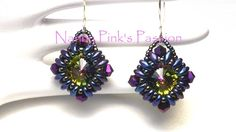 Tutorial Pillow Talk Earrings by NannyPinksPassion on Etsy