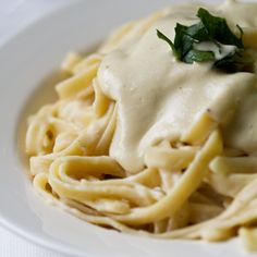 Dairy Free (Potato) Alfredo Pasta More dairy free recipes here!