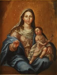 José Campeche - Nuestra Senora Del Rosario