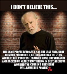 Carlin on Trump...saving just to point out that george carlin died in 2008. He never said anything about trump.