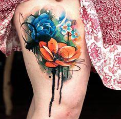 awesome Niedlichen Blumen auf Mädchen die Beine