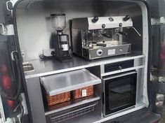 coffee truck interior - Google Search                                                                                                                                                                                 More