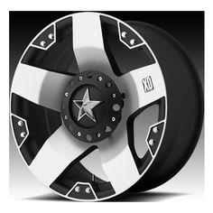 XD 775 Machined Rockstar Wheels | 4WheelOnline.com