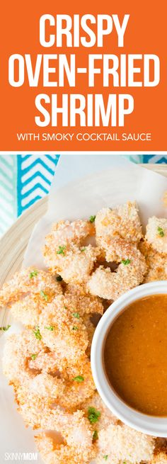 Serve up this fake-fried seafood dish for a delicious family meal that's healthy, too!