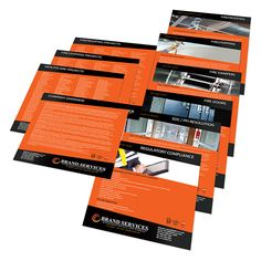 Stepped Inserts for Cascading Presentation Folders from 5¢