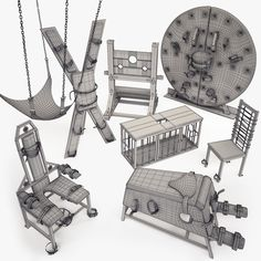 BDSM Furniture Model available on Turbo Squid, the world's leading provider of digital models for visualization, films, television, and games. Dungeon Room, Playroom Furniture, Furniture Plans, Rope Art, Dominatrix, Toys, Sexy, Female Dominance, Japanese Rope
