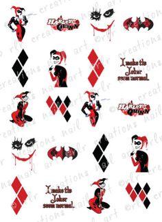 Harley quinn and Joker Harley Quinn Tattoo, Tatuaje Harley Quinn, Harley Tattoos, Joker Und Harley Quinn, Harley Quinn Drawing, Joker Tattoos, Batman Tattoo, Comic Tattoo, Mustache Tattoo