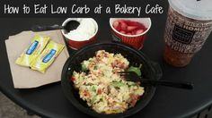 How to eat low carb at a bakery cafe | TravelingLowCarb.com - Low Carb Diet Tips for Busy People