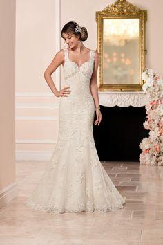 Wedding gown by Stella York, Style 6335