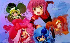 Amu, Miki, Ran, Su, and Dia!