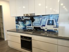 Seein Glass Designs is Melbourne's most experienced and trusted manufacturer of professional and high-quality custom Printed Glass Splashbacks. Printed Glass Splashbacks, Glass Design, Melbourne, Custom Design, Kitchen Cabinets, Cool Stuff, Prints, Home Decor, Restaining Kitchen Cabinets