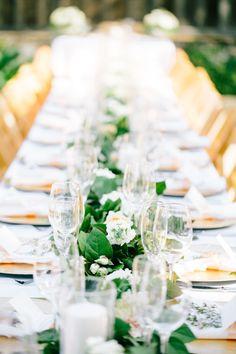 Elegant California ranch tablescape: http://www.stylemepretty.com/california-weddings/carmel-valley/2015/09/15/charming-elegant-holman-ranch-wedding/ | Photography: Mirelle Carmichael - http://mirellecarmichael.com/