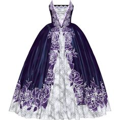 Dress for my Princess2.png ❤ liked on Polyvore featuring dresses and gowns