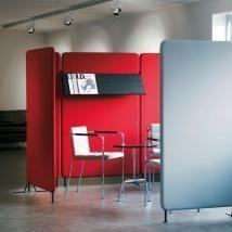 Softline  lydabsorberende skærmvægge, akustik vægge, Abstracta.