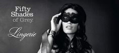 """50 Shades of Grey - The Official Lingerie: Well, here's a match made in marketing heaven. E.L. James, the author of 50 Shades of Grey, and retailer KappAhl have teamed up to design bras, undies, stockings, negligees, a lacy black mask, and a grey tie (naturally). Accoring to the Daily Mirror, a KappAhl spokesman said the collection is based on what they imagined female readers of the books would """"feel sensual in""""."""