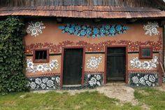 Залипие (Zalipie) – очаровательная польская деревня