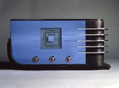 Art Deco Streamline Radio by Walter Teague for Sparton Co. 1936