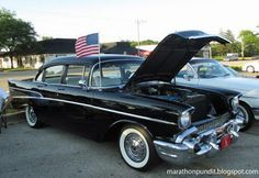 A 1957 Chevy 210 at last week's Morton Grove Classic Car Show.