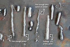 Picture of Practice: Mig Welding Tips, Cool Welding Projects, Welding Gear, Welding Shop, Welding Crafts, Diy Welding, Metal Welding, Metal Projects, Diy Projects