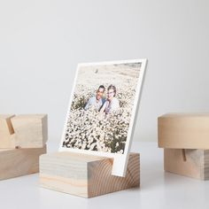 Wood Block Photo Prints | Photos with Wood Holder